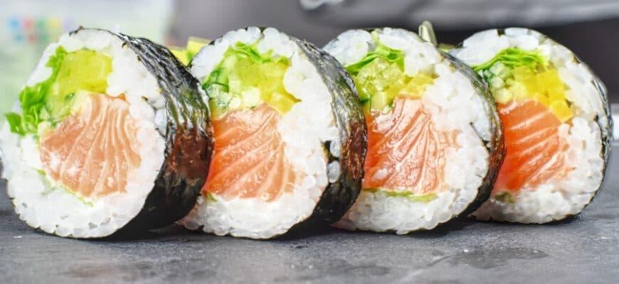 Можно ли на ПП роллы и суши: калорийность, состав